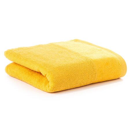 Velour törölköző sárga, 50 x 100 cm