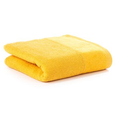 Ručník Velour žlutá, 50 x 100 cm