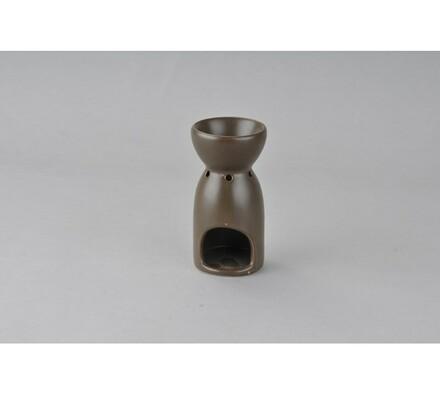 Keramická aromalampa, hnědá (085), hnědá