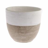 Recipient din beton pentru ghiveci Prime, 15 x 14 cm