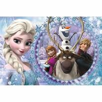 Trefl Puzzle Ledové království Přátelé, 60 dílků