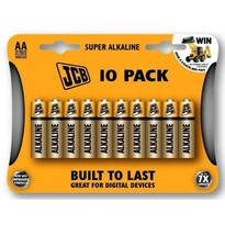 Solight JCB Super alkalické batérie LR06, 10ks