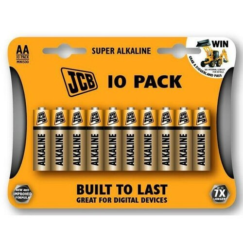 Solight JCB Super Alkalické baterie LR06, 10ks