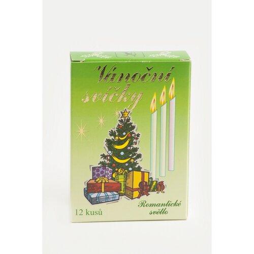 Sada sviečok k tradičnému anjelskému zvoneniu Stromček, 12 ks