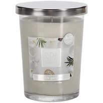 Spa Zen garden illatgyertya üvegpohárban 340 g, 12,2 cm