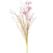 Sztuczne kwiaty polne 50 cm, brudny róż