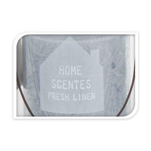 Svíčka ve skle Home scentes Fresh linen, 6 x 8,5 cm