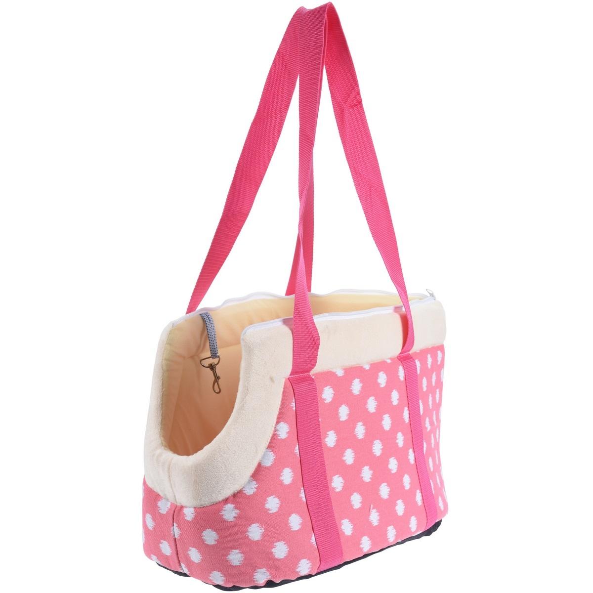 Přepravní taška pro domácí mazlíčky Animal space, růžová