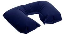 Cestovní polštářek tmavě modrá, 33 x 22 cm
