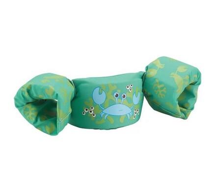 Puddle jumper deluxe (zelený - želva)