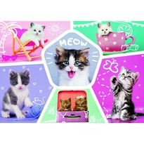 Trefl Puzzle Pisici simpatici, 200 piese
