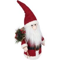 LED Santa so svietiacim nosom, 41 cm, na batérie
