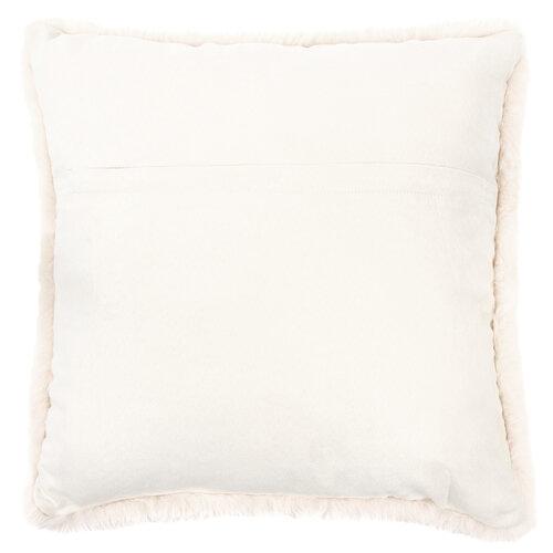 Povlak na polštářek Catrin lososová, 45 x 45 cm