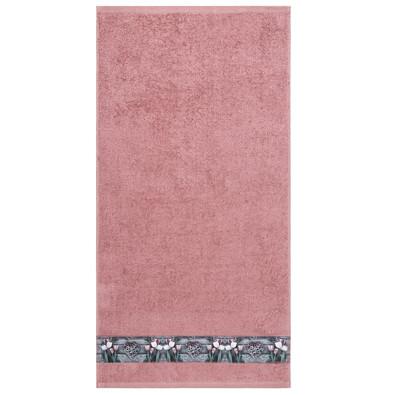 Prosop de mâini Tulip roz, 50 x 100 cm