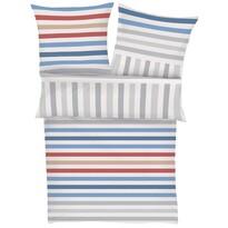 s.Oliver pamut ágynemű 4040/660 kék/fehér, 140 x 200 cm, 70 x 90 cm