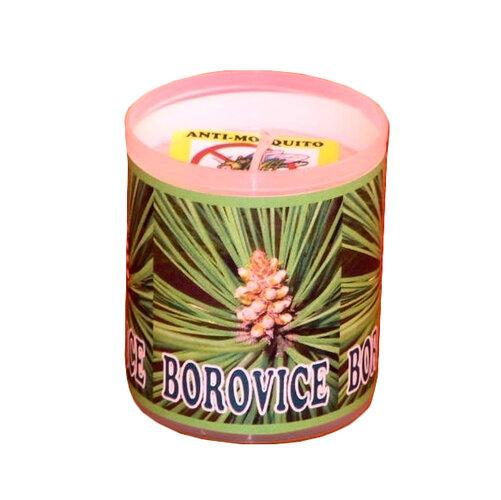 Repelentná sviečka s vôňou borovice