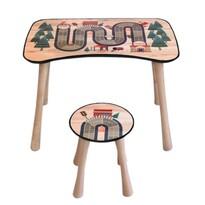 Stolik dziecięcy z krzesełkiem Tor, 65 x 41 x 47 cm