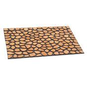 Venkovní rohožka Tree rings, 46x76 cm