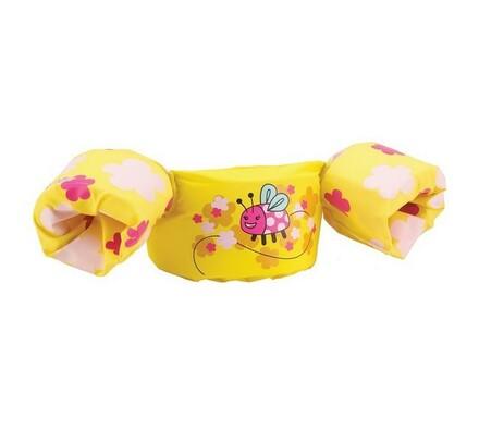 Puddle jumper deluxe (žlutý - beruška)