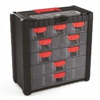 Závesný box na skrutky Cargo 9 priehradiek, 20 x 39 x 40 cm