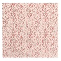 Față de masă roșie, 85 x 85 cm