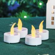 Čajové LED svíčky, 4 kusy