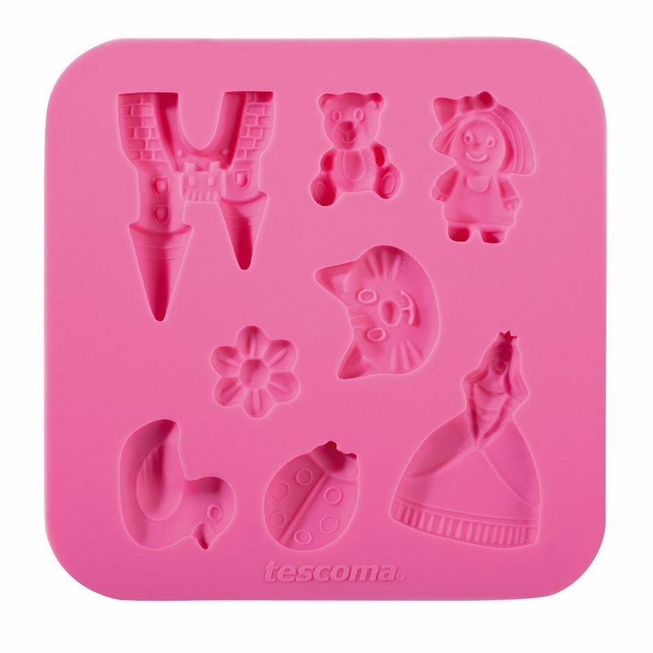 Fotografie Silikonové formičky DELÍCIA DECO, pro holky