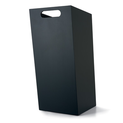 Koš na papír black S, černý