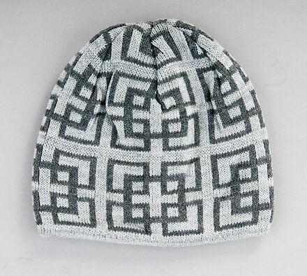 Pánská čepice Karpet 5142, šedá