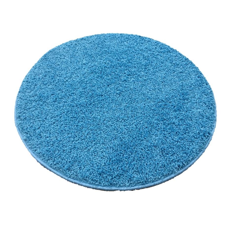 Vopi Kusový koberec Color shaggy modrá, 120 cm