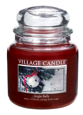 Village Candle Vonná svíčka Rolničky - Jingle Bells, 397 g