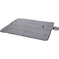 Pikniková deka Dice sivá, 130 x 150 cm