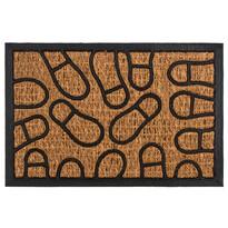Lábnyomok kókusz lábtörlő, 40 x 60 cm