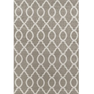 Tempo Kondela Kusový koberec Desta světle šedá, 150 x 100 cm