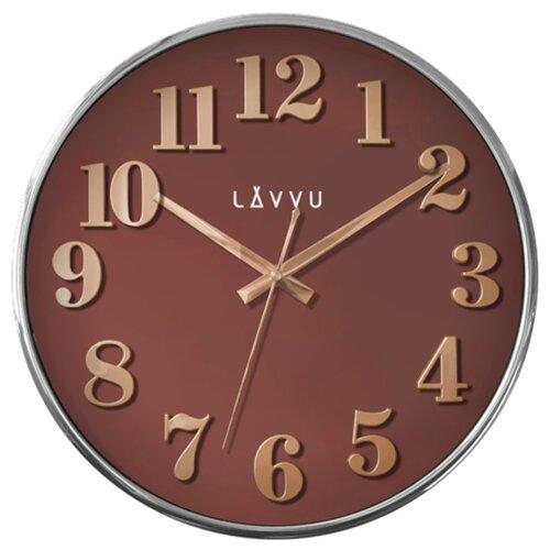 LAVVU HOME Red LCT1163 Nástěnné hodiny
