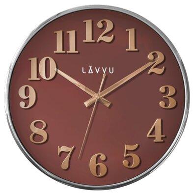 Nástěnné hodiny Lavvu Home Red LCT1163 červená, pr. 32 cm