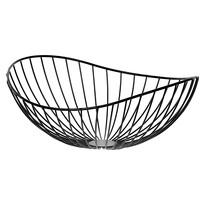 Coș metalic decorativ Elegant, 32 x 13 x 28 cm
