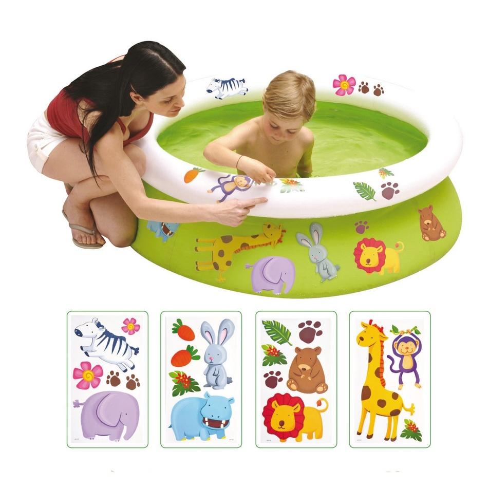 Detský bazén s obtlačkami, 122 x 35 cm