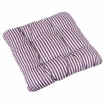 Sedák Adela Prúžok fialová, 40 x 40 cm