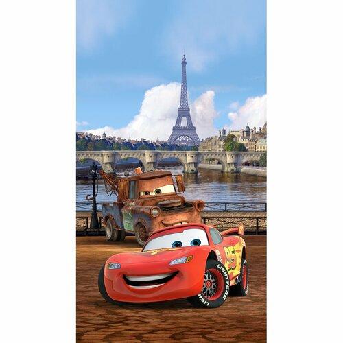Detský záves Cars in Paris, 140 x 245 cm