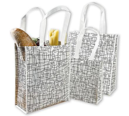 Laminované nákupní tašky