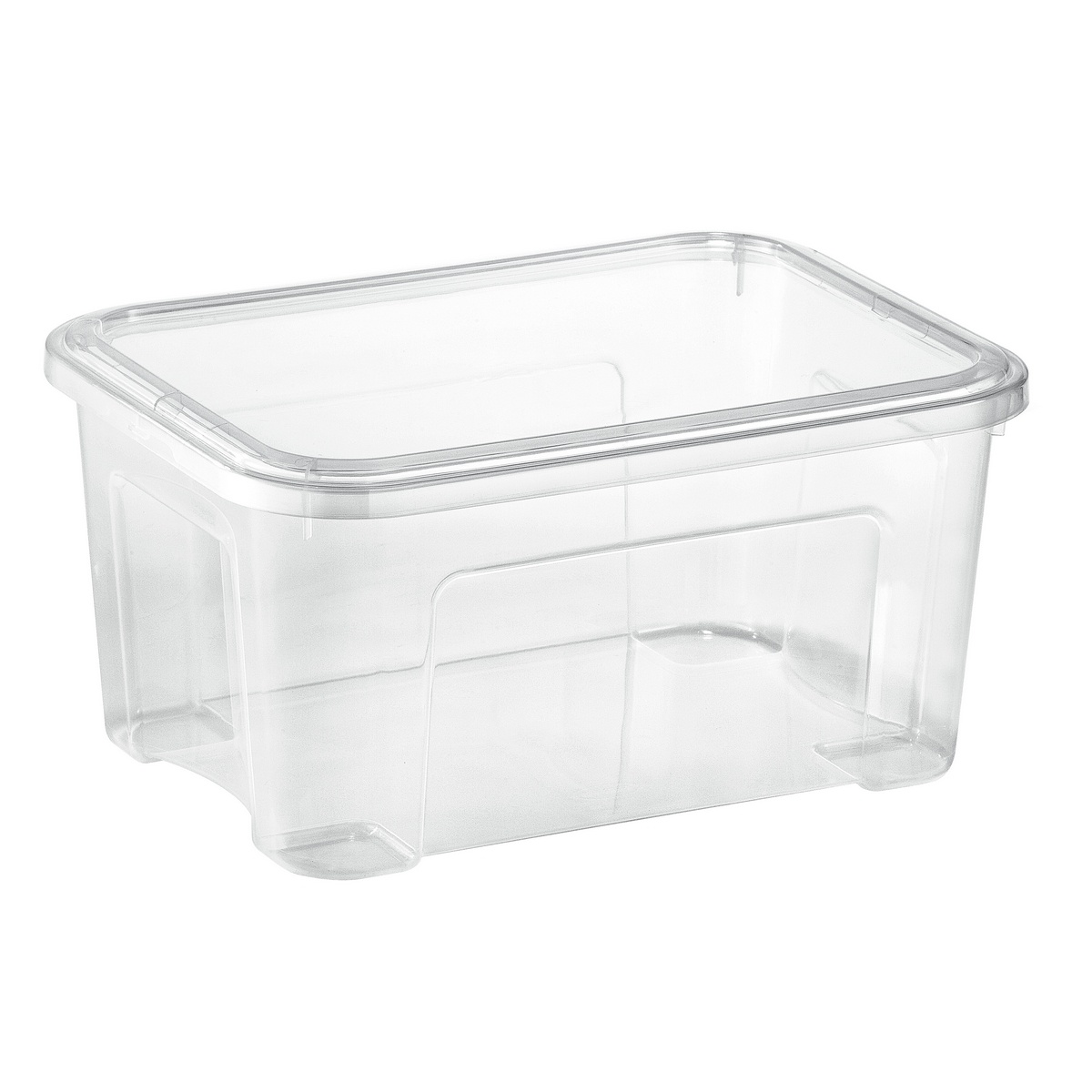 Tontarelli Úložný Combi box s víkem 13 l, transparentná