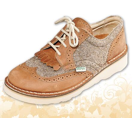 Orto Plus Dámská vycházková obuv vel. 41 hnědá