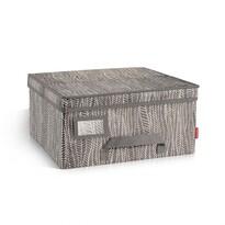 Tescoma Krabice na oděvy Fancy Home, 40 x 35 x 20 cm, béžová