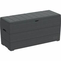 Duramax Záhradný úložný box antracit, 270 l