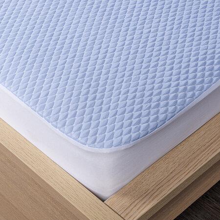 4Home Chladicí chránič matrace s lemem Cooler, 180 x 200 cm + 30 cm
