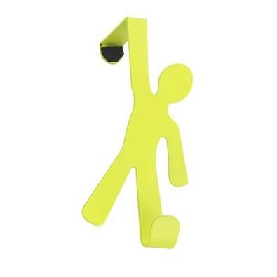 Wenko věšák na dveře zelená