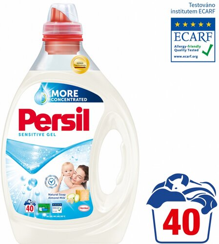 Persil Sensitive gel 2 l 40 praní
