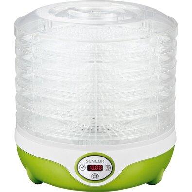 Sencor SFD 851GR sušička ovoce, bílá/zelená