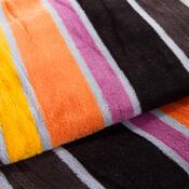 Bavlnená deka Belts oranžová, 150 x 200 cm